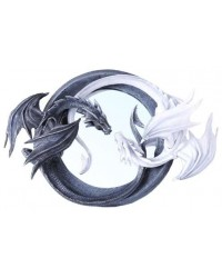 Ying Yang Dragon Wall Mirror