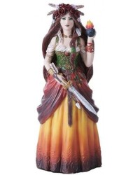 Brigid Goddess Statue All Wicca Magickal Supplies Wiccan Supplies, Wicca Books, Pagan Jewelry, Altar Statues