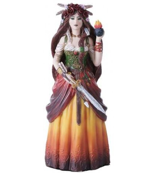 Brigid Goddess Statue at All Wicca Store Magickal Supplies, Wiccan Supplies, Wicca Books, Pagan Jewelry, Altar Statues