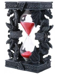 Celtic Dragon Sand Timer All Wicca Store Magickal Supplies Wiccan Supplies, Wicca Books, Pagan Jewelry, Altar Statues