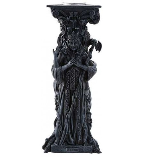 Mother, Maiden, Crone Goddess Candle Holder Gray at All Wicca Store Magickal Supplies, Wiccan Supplies, Wicca Books, Pagan Jewelry, Altar Statues