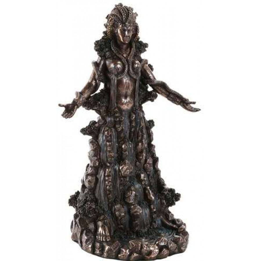 Wiccan goddess statue
