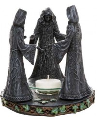 Mother, Maiden, Crone Triple Goddess Candle Holder All Wicca Store Magickal Supplies Wiccan Supplies, Wicca Books, Pagan Jewelry, Altar Statues