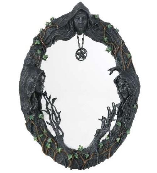 Mother Maiden Crone Wall Mirror