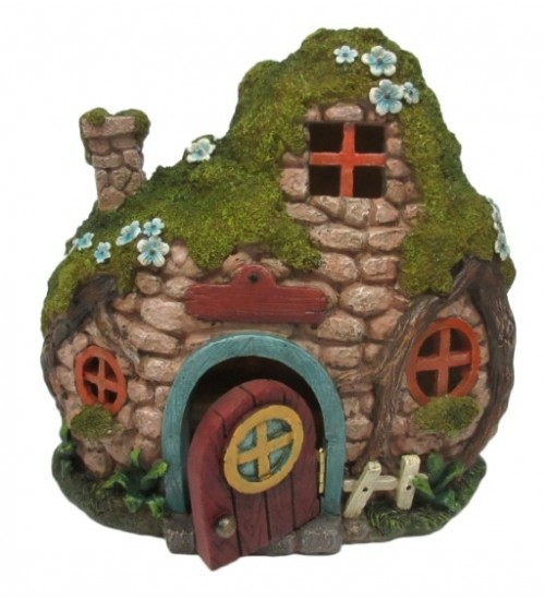 Fairy Cottage with Light at All Wicca Magickal Supplies, Wiccan Supplies, Wicca Books, Pagan Jewelry, Altar Statues