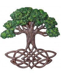 Tree of Life Celtic Knot Wall Plaque All Wicca Store Magickal Supplies Wiccan Supplies, Wicca Books, Pagan Jewelry, Altar Statues