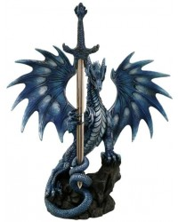 Sea Blade Dragon Desk Top Letter Opener All Wicca Magical Supplies Wiccan Supplies, Wicca Books, Pagan Jewelry, Altar Statues
