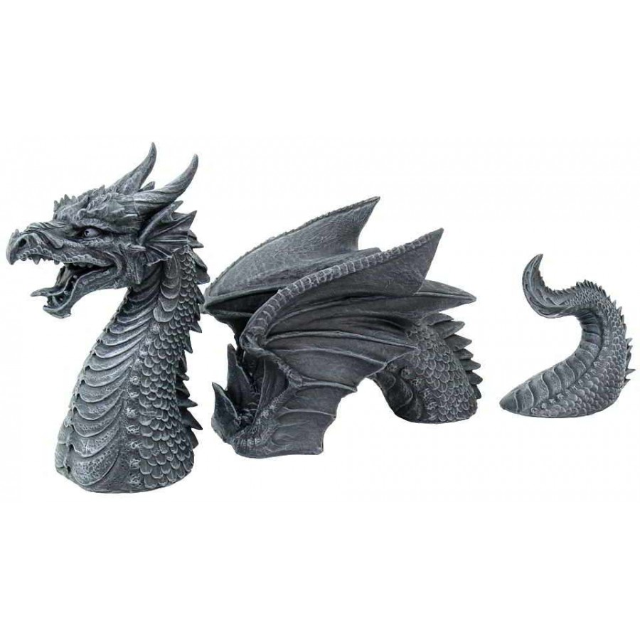 Dragon Of A Fallen Castle Moat Statue At All Wicca Magical Supplies, Wiccan  Supplies,
