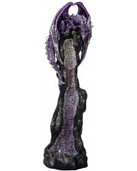 Dragon Geode Tower Incense Holder All Wicca Store Magickal Supplies Wiccan Supplies, Wicca Books, Pagan Jewelry, Altar Statues