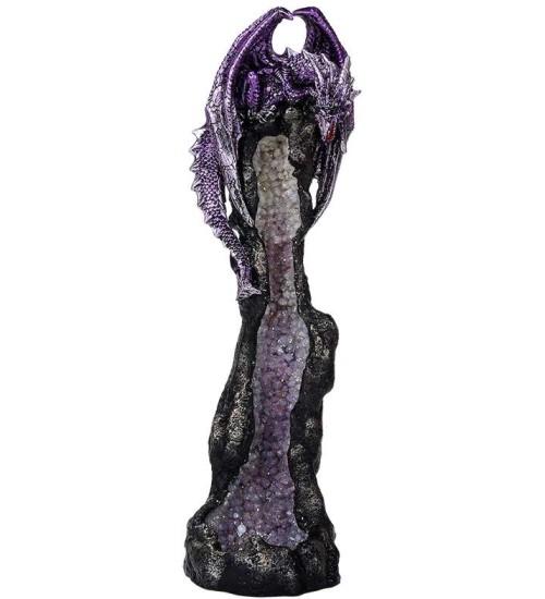 Dragon Geode Tower Incense Holder