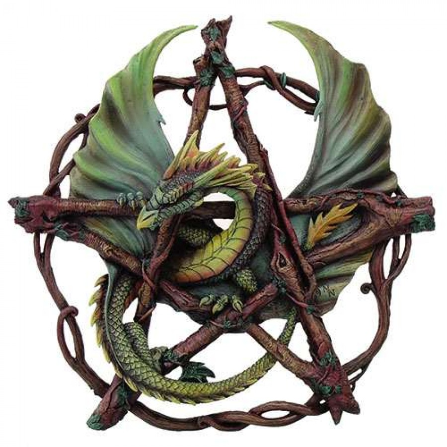 Forest Pentagram Dragon Plaque at All Wicca Magickal Supplies, Wiccan  Supplies, Wicca Books,