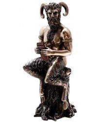 Pan Greek God of Nature Horned God Statue