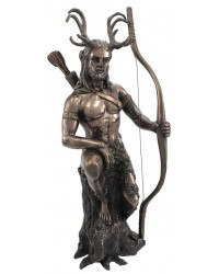 Herne the Hunter Horned Forest God Statue