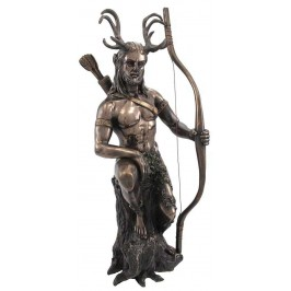 Herne the Hunter Horned Forest God Statue