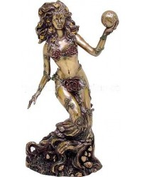 Gaia, Mother Earth Bronze Statue All Wicca Store Magickal Supplies Wiccan Supplies, Wicca Books, Pagan Jewelry, Altar Statues