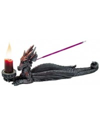 Lounging Dragon Incense Burner Candle Holder All Wicca Store Magickal Supplies Wiccan Supplies, Wicca Books, Pagan Jewelry, Altar Statues