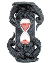Double Dragon Gothic Sand Timer All Wicca Magickal Supplies Wiccan Supplies, Wicca Books, Pagan Jewelry, Altar Statues