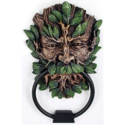 Greenman Forest God Door Knocker All Wicca Wiccan Altar Supplies, All Wicca Books, Pagan Jewelry, Wiccan Statues