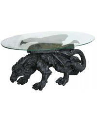 Shire Dragon Glass Topped Coffee Table All Wicca Store Magickal Supplies Wiccan Supplies, Wicca Books, Pagan Jewelry, Altar Statues