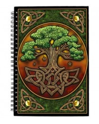 Circle of Life Tree Journal All Wicca Store Magickal Supplies Wiccan Supplies, Wicca Books, Pagan Jewelry, Altar Statues