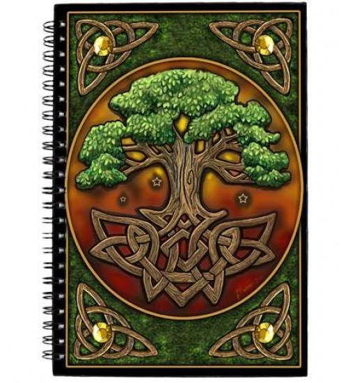 Circle of Life Tree Journal at All Wicca, Wiccan Altar Supplies, All Wicca Books, Pagan Jewelry, Wiccan Statues