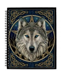 The Wild One Wolf Blank Journal All Wicca Store Magickal Supplies Wiccan Supplies, Wicca Books, Pagan Jewelry, Altar Statues
