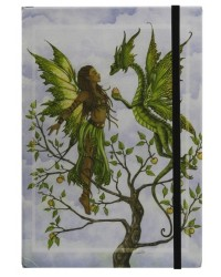 The Gift Embossed Fairy Dragon Journal All Wicca Store Magickal Supplies Wiccan Supplies, Wicca Books, Pagan Jewelry, Altar Statues