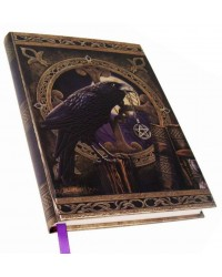 Talisman Raven Embossed Journal All Wicca Store Magickal Supplies Wiccan Supplies, Wicca Books, Pagan Jewelry, Altar Statues