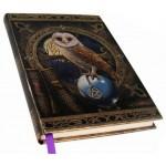 Spell Keeper Owl Embossed Journal