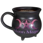 Moon Magic Cauldron Triple Moon Large Mug
