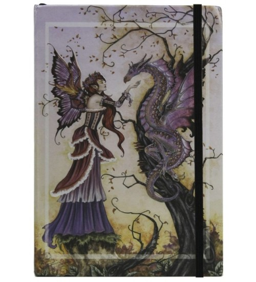 Dragon Charmer Embossed Fairy Journal at All Wicca Store Magickal Supplies, Wiccan Supplies, Wicca Books, Pagan Jewelry, Altar Statues