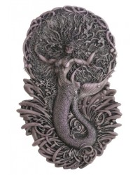 Mermaid Aine Plaque in Gray All Wicca Store Magickal Supplies Wiccan Supplies, Wicca Books, Pagan Jewelry, Altar Statues