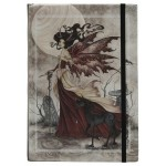 Red Fairy Queen Embossed Journal
