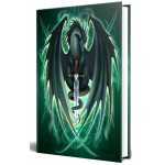 Dragon Skull Blade Embossed Journal