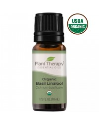 Basil Linalool Organic Essential Oil for Calm Focus