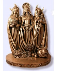 Triple Goddess Bronze Statue All Wicca Magickal Supplies Wiccan Supplies, Wicca Books, Pagan Jewelry, Altar Statues