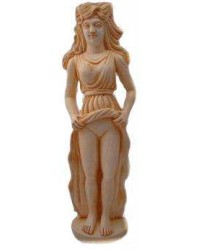 Isis as Baubo Greek Statue