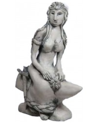 Brigid Goddess of the Hearth Small Statue All Wicca Magickal Supplies Wiccan Supplies, Wicca Books, Pagan Jewelry, Altar Statues