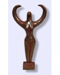 Nile Goddess Small Bronze Statue