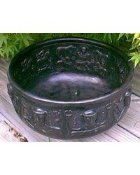 Gundustrup 12 Inch Resin Cauldron All Wicca Supply Shop Wiccan Supplies, All Wicca Books, Pagan Jewelry, Wiccan Altar Statues