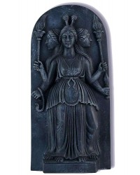 Hecate Goddess of the Night Plaque All Wicca Magickal Supplies Wiccan Supplies, Wicca Books, Pagan Jewelry, Altar Statues