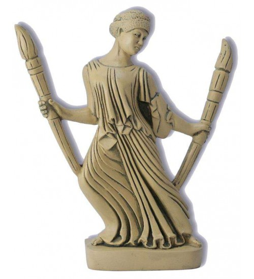 Hecate with Torches Greek Goddess Statue at All Wicca, Wiccan Altar Supplies, All Wicca Books, Pagan Jewelry, Wiccan Statues