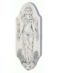 Hecate Goddess of the Crossroads Plaque by Jeff Cullen