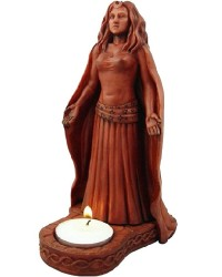 Moon Goddess Divine Feminine Votive Statue All Wicca Store Magickal Supplies Wiccan Supplies, Wicca Books, Pagan Jewelry, Altar Statues