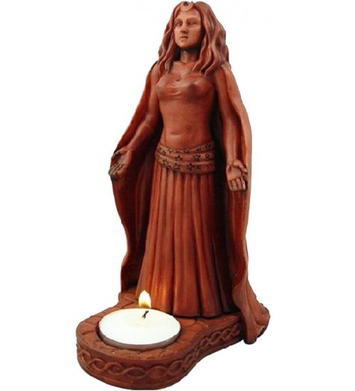 Moon Goddess Divine Feminine Votive Statue at All Wicca Store Magickal Supplies, Wiccan Supplies, Wicca Books, Pagan Jewelry, Altar Statues
