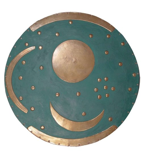 Sky Disc of Nebra Bronze Plaque