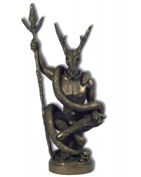 Witch Lord Bronze Statue by Chris Orapello