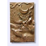 Water Element Plaque by Ann Zeleny