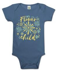 Flower Child Organic Baby Onesie