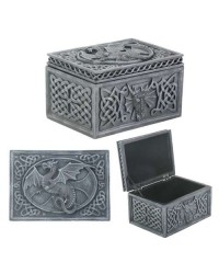 Dragon Celtic Jewelry Box All Wicca Store Magickal Supplies Wiccan Supplies, Wicca Books, Pagan Jewelry, Altar Statues